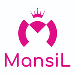 Mansil by Mann Gold Logo