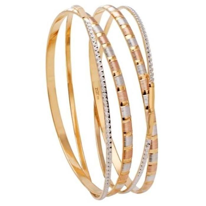 22 kt 916 gold bangle moder designe