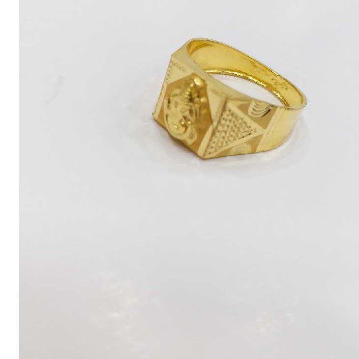 760 gold box ganesh rings RJ-B009