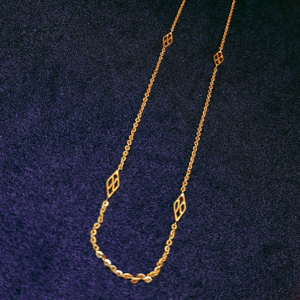 22K Gold Delicate Chain