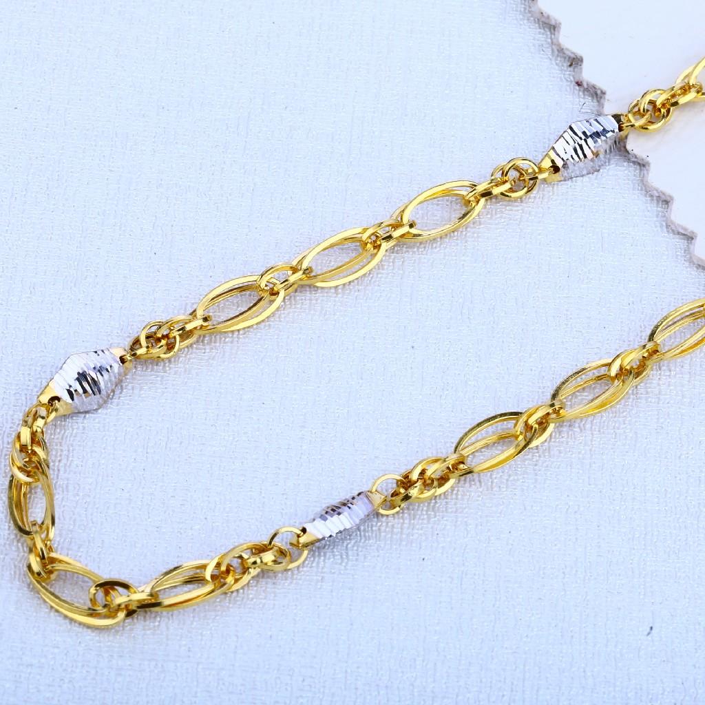 916 Gold Hallmark Fancy Men's Chain MCH89