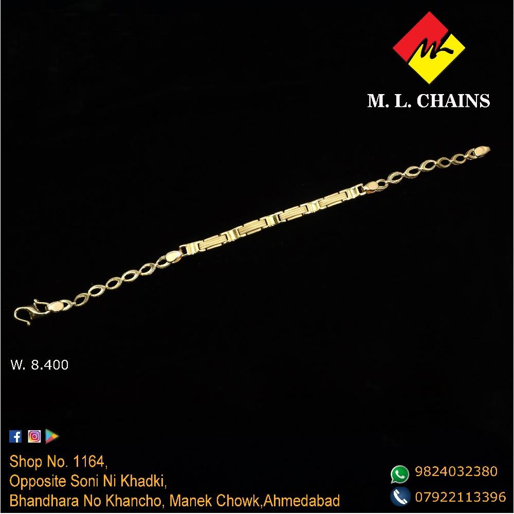 22KT Gold Gents Lucky ML-B07