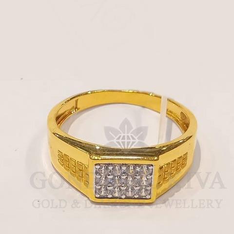 22kt gold ring ggr-h89