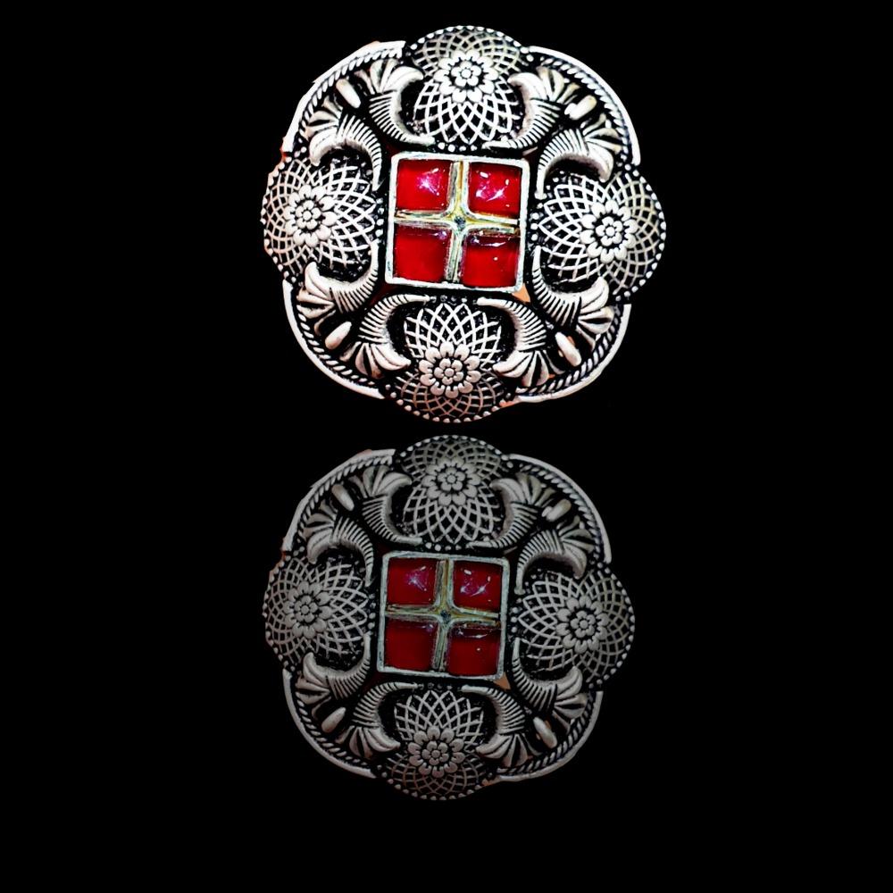 92.5 silver Padmavati ring
