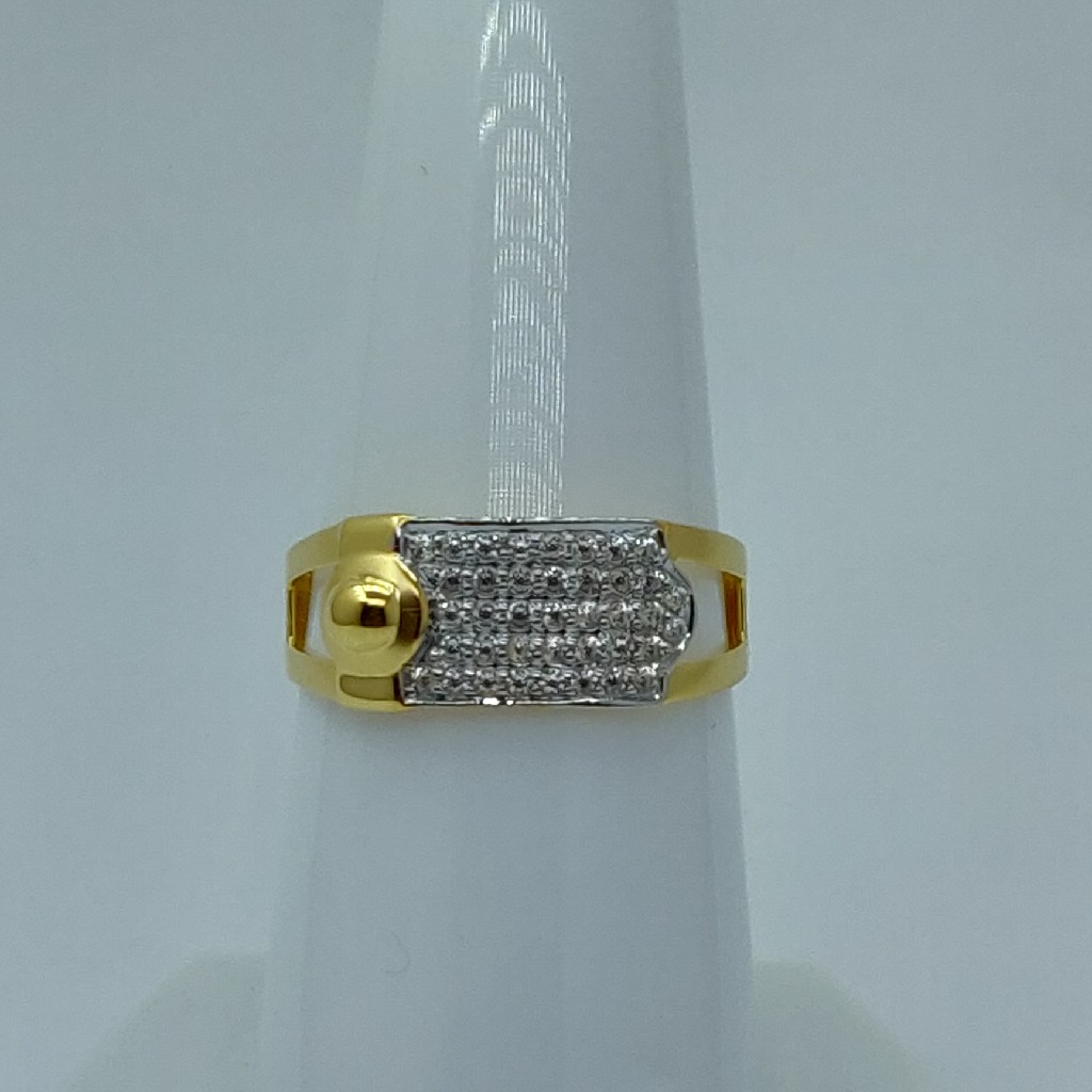 22k light weight executive gents ring