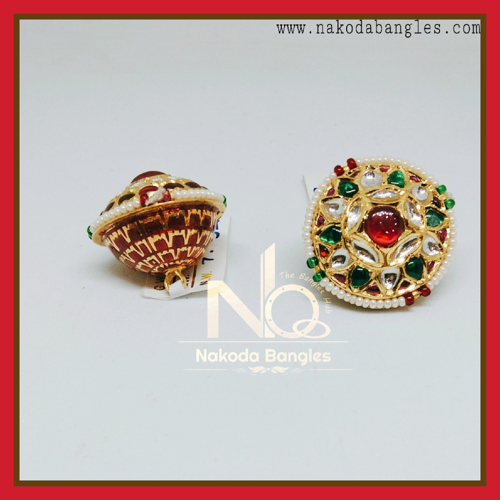 916 Gold Antique Rakhdi NB-257