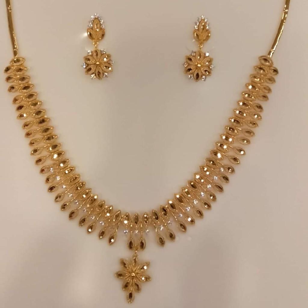 fancy diamond set