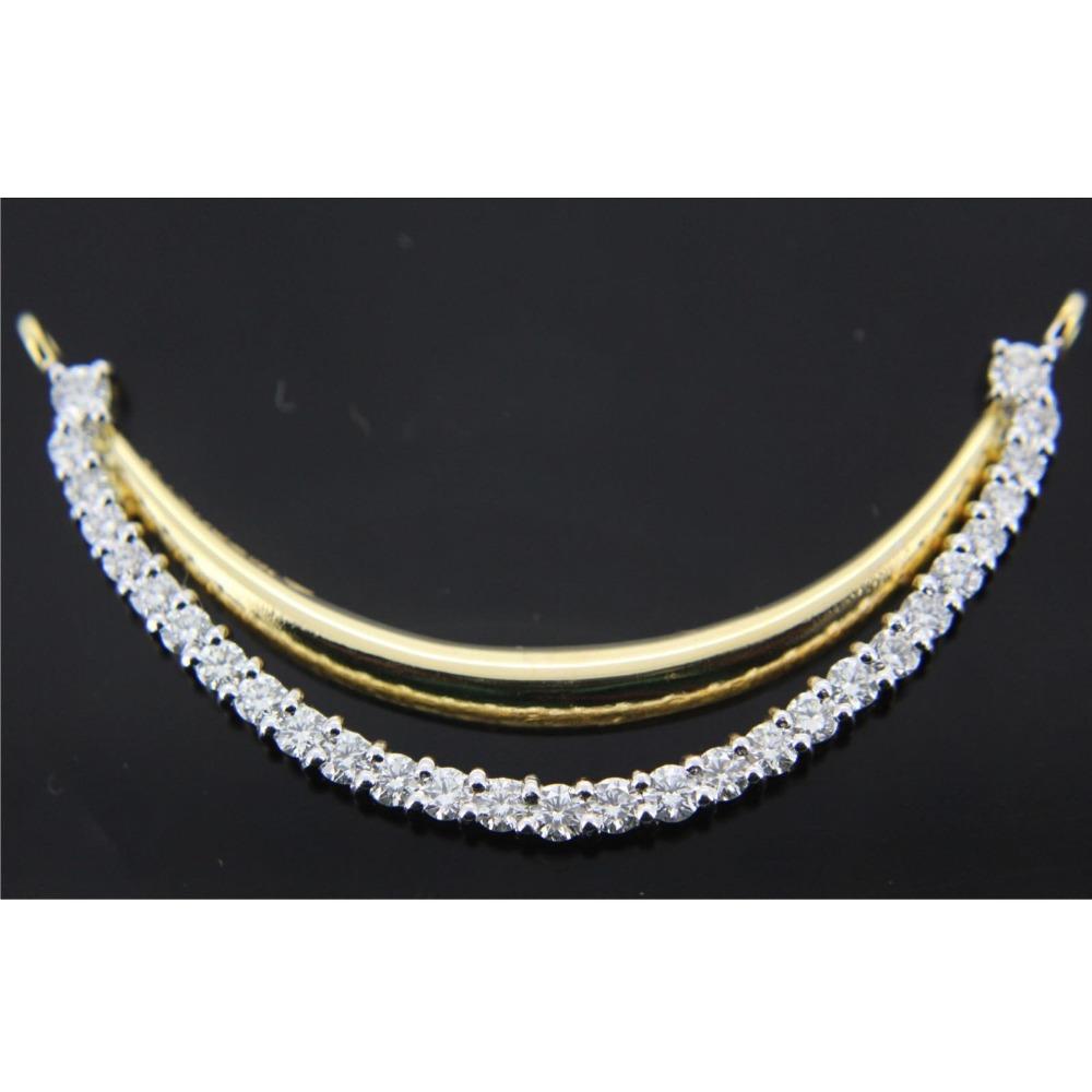 916 Gold Fancy Diamond Tanmaniya GK-N03