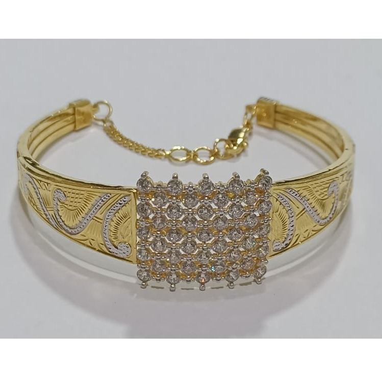 22kt gold cz fancy bracelet for women sg-b05