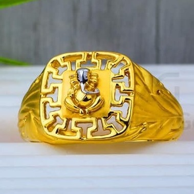 22 Kt 916 Gold Gents Ring