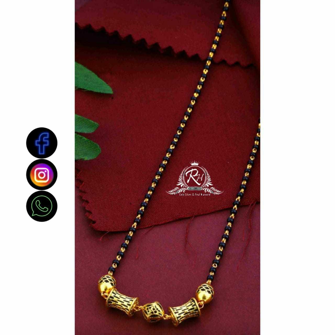 22 Carat Gold Traditional Ladies Mangalsutra RH-LM732