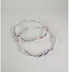 Silver Fancy Bangles. NJ-B01056