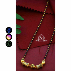 22 Carat Gold Traditional Ladies Mangalsutra RH-LM732
