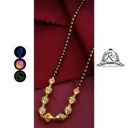22 Carat Gold Antique Mangalsutra RH-LM734