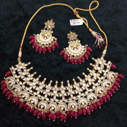 bridal necklace set#219