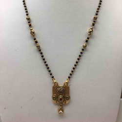 916 GOLD ANTIQUE MANGALSUTRA DOKIA