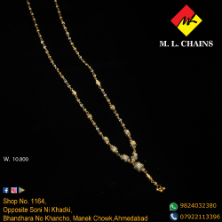 916 Gold Fancy Beads Dokiya