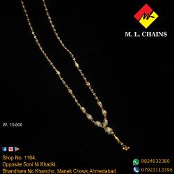 916 Gold Fancy Beads Dokiya