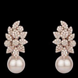 Diamonds and Pearls EarringsJSJ0122