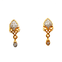 22K Gold Designer Earrings MGA - BTG0023