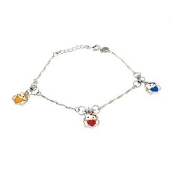 925 Sterling Silver Kids Bracelet MGA - BRS1640
