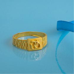916 gold plain design