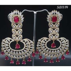 Designer Diamond Earrings#1061