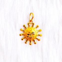 Surya Pendant by Shree Narayani Gold