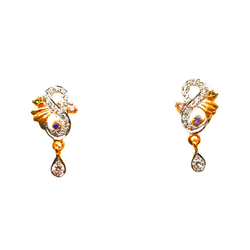 22K Gold Designer Earrings MGA - BTG0035
