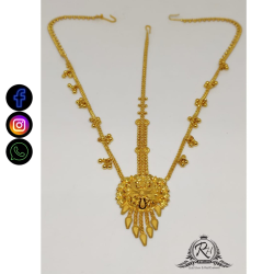 22 carat gold traditional ladies tikka RH-LT506