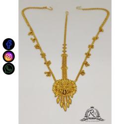 22 carat gold traditional ladies tikka RH-LT506