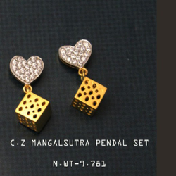 Mangalsutra pendal set by