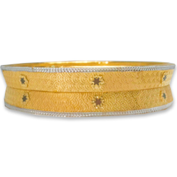 RAJWADI DESIGNED GOLD COPPER KADLI BANGLE