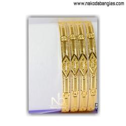 916 gold khilla bangles nb - 1413