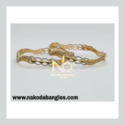 916 Gold CNC Bangles NB - 911