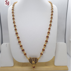 Ek Mukhi Rudraksh Mala RMG-0007 Gross Weight-32.360 Net Weight-26.330