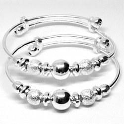 SILVER BABY BANGLE by JP 925 Silver
