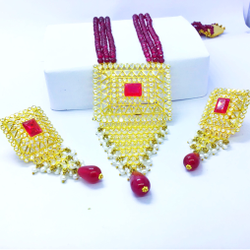 DESIGNING FANCY GOLD SET FOR LADIES