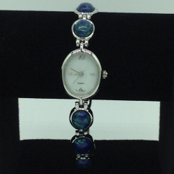 Natural Lapis Lazuli Oval Designer Watch JBG0228