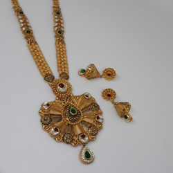 Antique Jadtar Neckace set st/1321/160