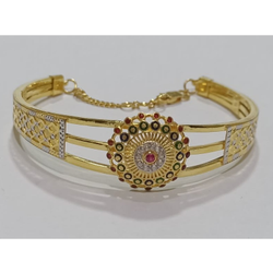 916 Gold Indian Design Bracelet SG-B14