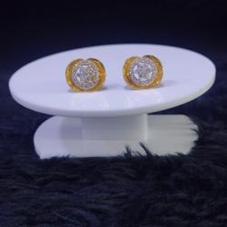 22KT/916 Yellow Gold Ghiz Earrings For Women