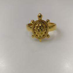 22kt gold Tortoise ring