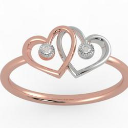 18 ct real diamond ring