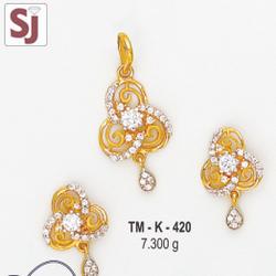 Mangalsutra Pendant Set TM-K-420