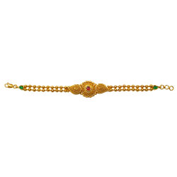 22K Gold Antique Modern Bracelet MGA - GB005