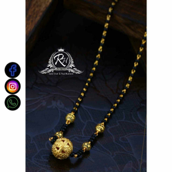 22 Carat Gold Classical Ladies Mangalsutra RH-LM733