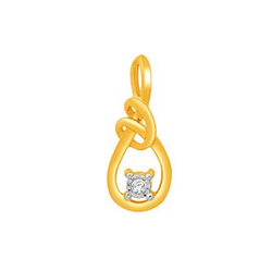 18k gold real diamond fancy earring mga - rde0010