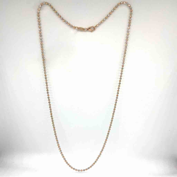 18 karat, rose gold ball chain JKC-098