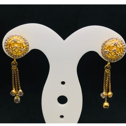 18 CARAT GOLD EARRINGS BT0065